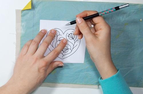 3 formas de pasar el dibuja a la tela para bordar